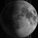 Luna Gibbosa Calante
